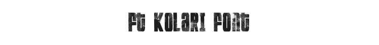FT Kolari Font Preview