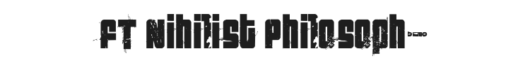 FT Nihilist Philosophy Font Preview