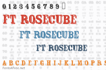 FT Rosecube Font