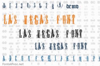 Fuck you Las Vegas Font