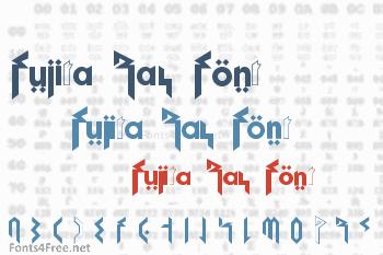 Fujita Ray Font
