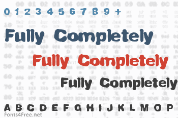 Fully Completely Font