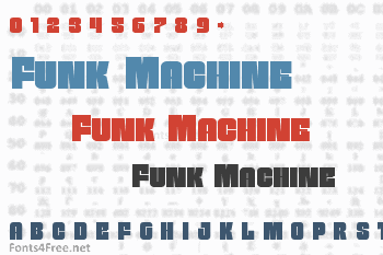 Funk Machine Font