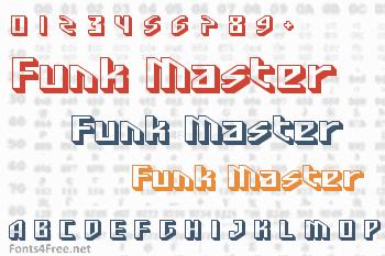 Funk Master Font