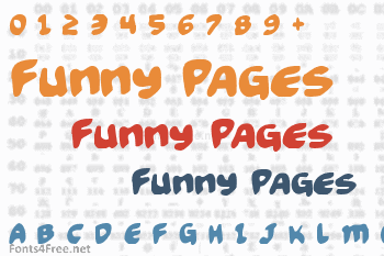 Funny Pages Font