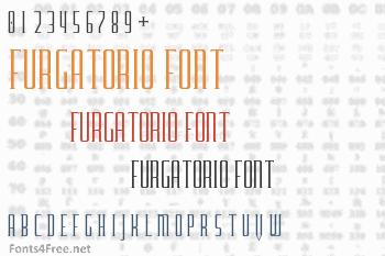 Furgatorio Font