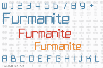 Furmanite Font