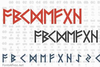 Futhark Font