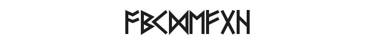 Futhark Font Preview