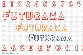 Futurama Font