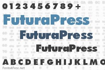 FuturaPress Font