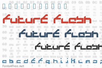 Future Flash Font