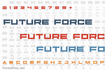 Future Forces Font