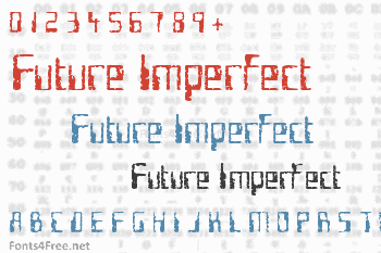 Future Imperfect Font
