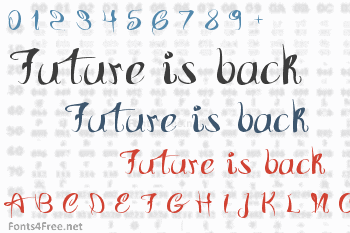Future is back Font