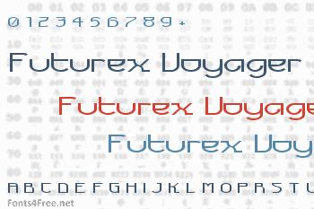 Futurex Voyager Font