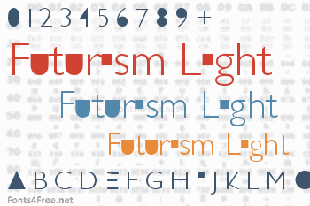 Futurism Light Font