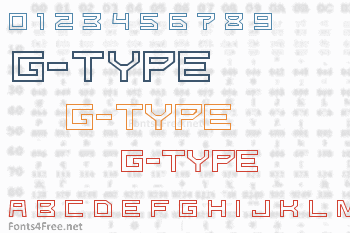 G-Type Font