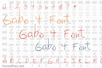 Gabo 4 Font