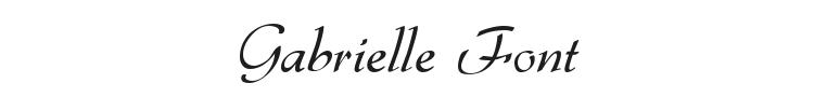 Gabrielle Font Preview