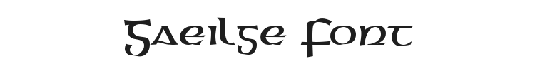 Gaeilge Font Preview