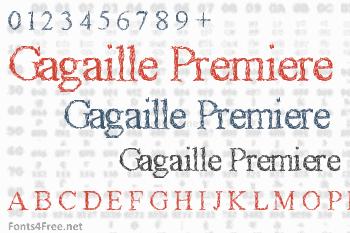 Gagaille Premiere Font