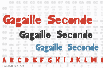 Gagaille Seconde Font