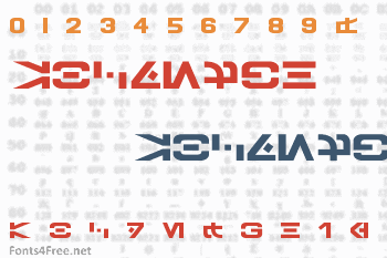 Galactic Basic Font
