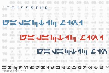Galactic Mini Font