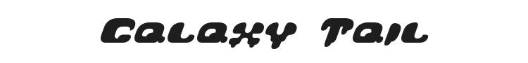 Galaxy Tail Font