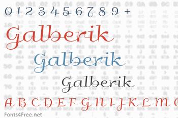 Galberik Font
