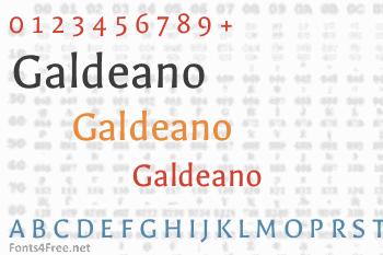 Galdeano Font