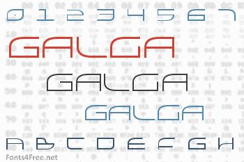 Galga Font
