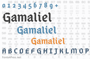 Gamaliel Font