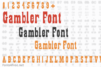 Gambler Font