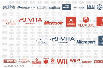 Game Logos Font