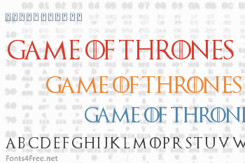 Game of Thrones Font Download - Fonts4Free