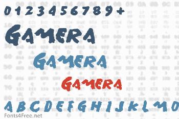 Gamera Font