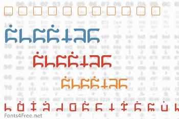 Gargish Font