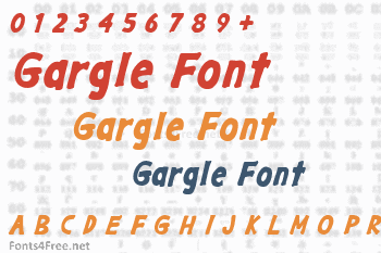 Gargle Font