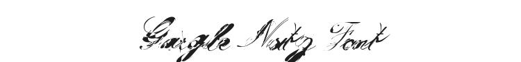Gargle Nutz Font