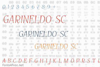 Garineldo SC Font