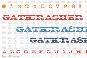 Gatecrasher Font