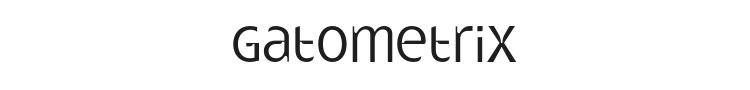 Gatometrix Font Preview
