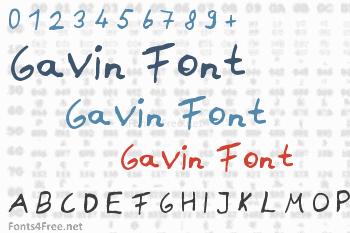 Gavin Font