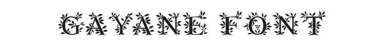 Gayane Font Preview
