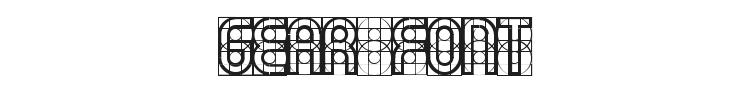 Gear Font