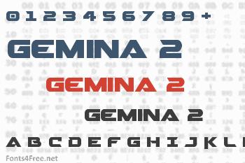 Gemina 2 Font