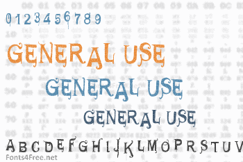 General Use Font