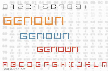 Genown Font